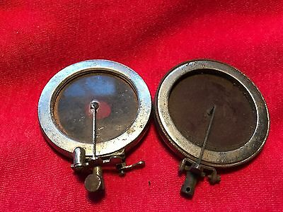 Vintage Lot of 2 Gramophone Phonograph Reproducer parts
