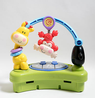Fisher Price Discover n Grow Jumperoo Replacement Part Music Monkey Light 6276