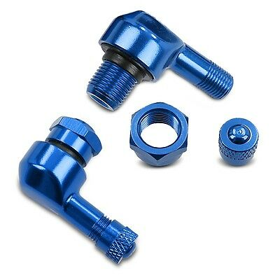 Motorcycle angle valve Buell XB12 R Firebolt Puig blue pair
