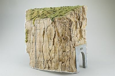 S Sn3 HO Scale Handmade Model Scenery for Layout Tunnel Portal & Large Cliff