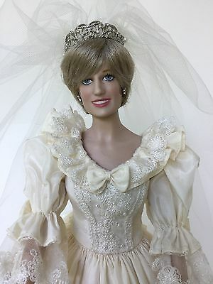 The Franklin Mint Diana, Princess of Wales, Bride Doll