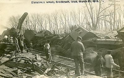 Ia Gladbrook / Disastrous Wreck / March 21, 1910 / 1