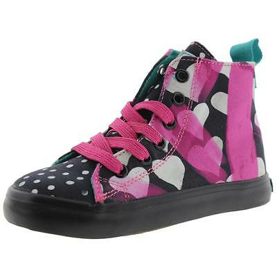 Chooze 1713 Girls Spark B/W Toddler Fashion Sneakers Shoes 9 Medium (B,M) BHFO