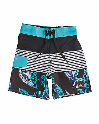 "NEW QUIKSILVER™  Boys 2-7 Division Remix 12"" Boardshort Boys Children Swim Short"