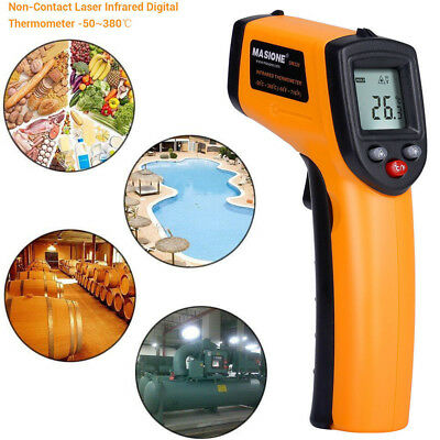 FDA Approved Digital Non-Contact Temperature Gun Infrared IR Laser Thermometer