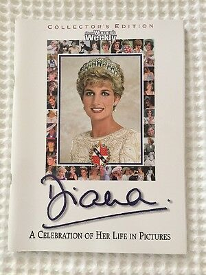 Collectors Edition Princess Diana Women's Weekly Magazine From 1997
