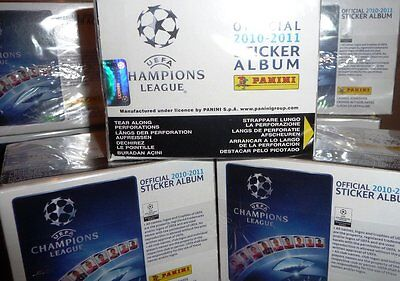 Panini Uefa Champions League 2010-2011 Stickers 50 Pack Booster Box
