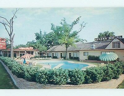 Unused Pre-1980 MOTEL SCENE Houston Texas TX hk0536-19