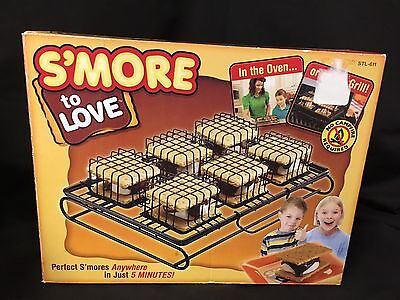 New S'MORES Maker Indoor Oven Outdoor Grill Camping NO Campfire Needed! Smores