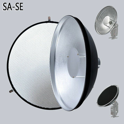 Godox AD-S3 Beauty Dish with Honeycomb Grid for Speedlite Flash AD180 AD360