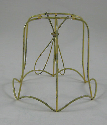 Vintage Small Clip On Lamp Shade Frame