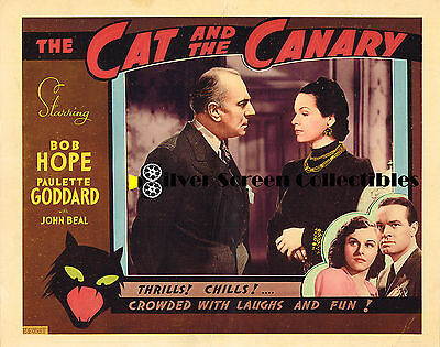The Cat And The Canary - Vintage Lobby Card