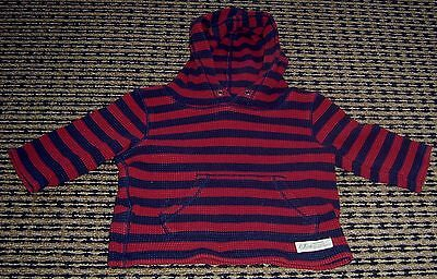 Country Road Baby Boys Hooded Top Sz 0-3 Months