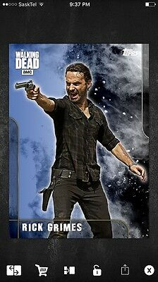 Topps Walking Dead Card 3 Prestige Inserts