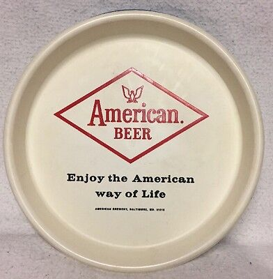 Vintage American Beer Tray /Advertising Sign American Brewery Baltimore Maryland