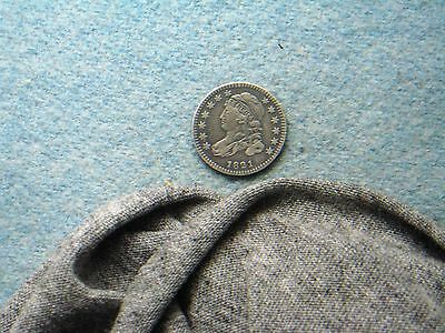 1821 Bust Dime! Small Date! Wow, Choice!! (178)