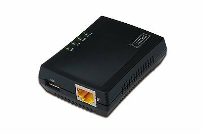 Digitus Multifunction Network Server 1xUSB2.0 interg Rieter NAS and RJ45 Network