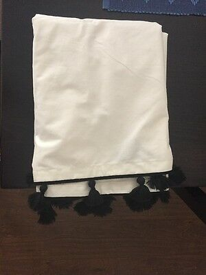 Pottery Barn Kids Cot Skirt