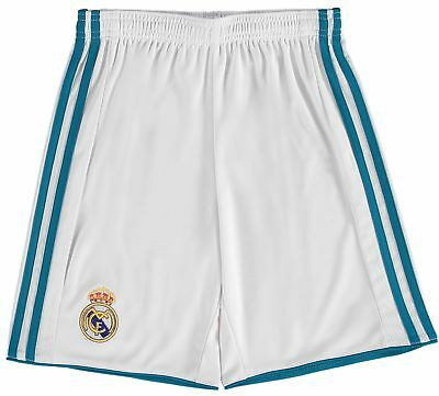 Real Madrid Home Shorts 2017-18 - Kids