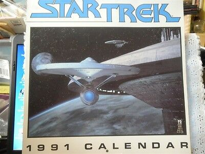 Star Trek 1991 Calendar - Movies - The Original Cast