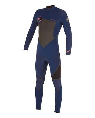 NEW QUIKSILVER™  Mens Syncro 3/2MM LFS Steamer Wetsuit 2015 Surf