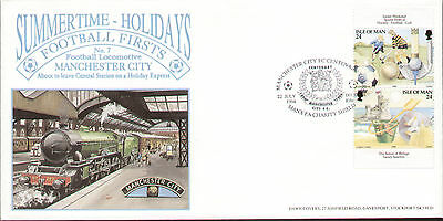 Manchester City Centenary Tour 1994 Dawn First Day Cover