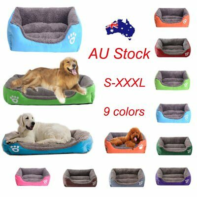 Large Pet Dog Cat Bed Puppy Cushion House Pet Soft Warm Kennel Dog Mat Washable