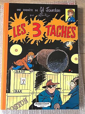 "Tl Golden Creek Tillieux Gil Jourdan "" 3 Taches "" Etat Neuf+ Xl Rare /495 Ex"