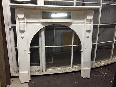 Timber Fireplace Fire Mantle