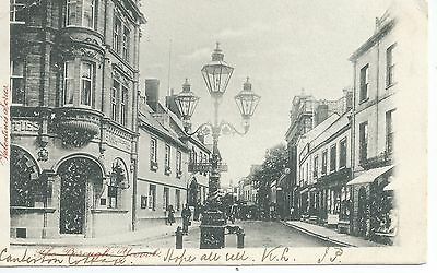 Printed postcard of the the borough Yeovil  Somerset in good condition