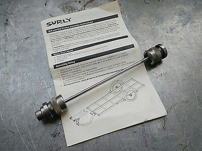 Surly trailer hitch skewer QR axle for Bill and Ted trailers