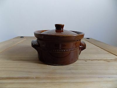 Vintage Pearsons Of Chesterfield Earthenware Casserole Dish