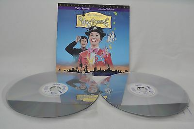 MARY POPPINS Laserdisc Fully Restored Limited Widescreen Edition NTSC