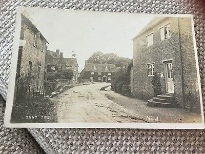 1916 Duns Tew Real Photo Packer Chipping Norton To Oxford