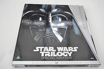 STAR WARS TRILOGY SPECIAL EDITION WIDESCREEN LASERDISC PAL1st PRESS 2746 of 5000