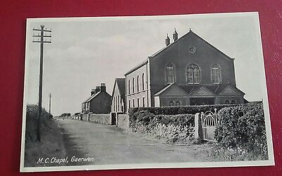 M.C. CHAPEL, GAERWEN (REAL PICTURE) - EARLY 190O's.