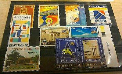 Philippines 2015 issues per scan MNH