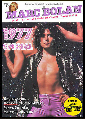 NEW Marc Bolan Fanzine • ATMFC 40 Summer 2017 • T.Rex Free Fridge Magnet
