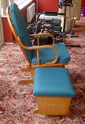 nursery/feeding rocking chair