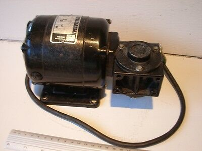 Bodine electric motor & gearbox 115 V dc