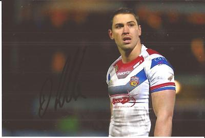 Wakefield Trinity Rugby League * Dean Collis Signed 6X4 Action Photo+Coa