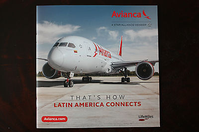 Marketing Brochure Avianca That's How Latin America Connects