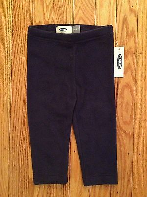 NWT Boy's/Girl's Old Navy Blue Fleece Pants - Sizes 12-18, 18-24 Months