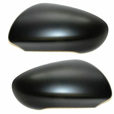 Nissan Qashqai 2007-2014 Textured Black Wing Mirror Covers Pair Left & Right