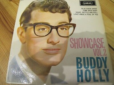 "Fep 2069 7"" 45Rpm 1964 Buddy Holly ""showcase Vol.2"" Ex- Ep Mono"