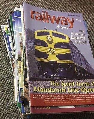 Collection of 37 Railway Magazines 2005-2016