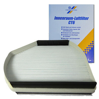 Innenraumfilter Pollenfilter Mercedes W202 S202 W210 S210 R170 CT6