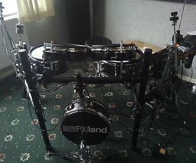 Custom Built Electronic Kit Roland,Yamaha and converted drums.