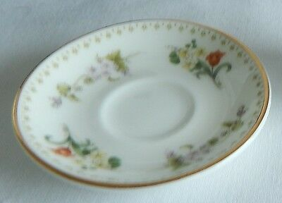 Replacement Miniature Saucer for set Wedgwood Mirabelle design Porcelain England