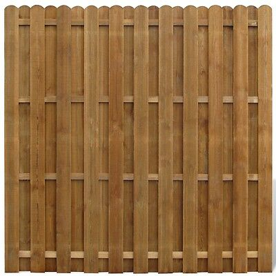 Wooden Hit/Miss Garden Fence Panels Boarder Lawn Palisade Edge Patio Fencing